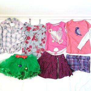 4/20$Bundle top skirts shorts tulle leopard floral